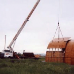 Disasemble, Hoist and Haul Quonset Components