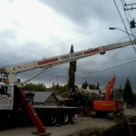 Securing Electrical Pole for Enmax