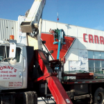 Sign Work at Cochrane Canadian Tire